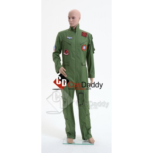 Top Gun Maverick Pete Mitchell Flight Suit Mens Ju...