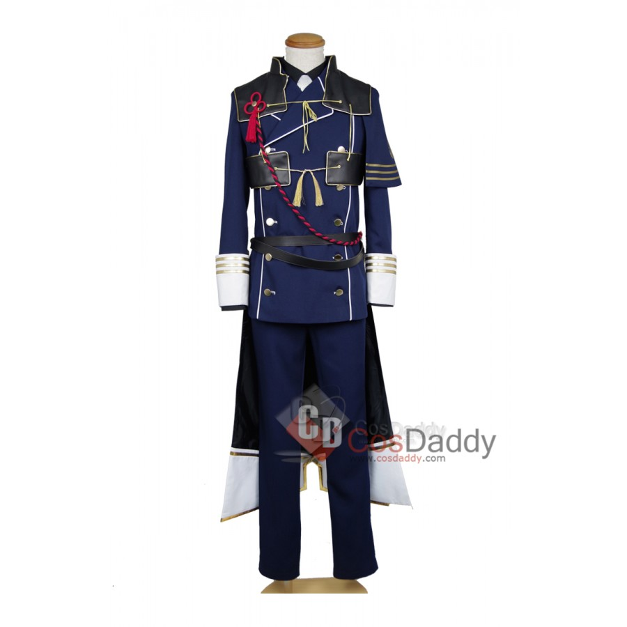 The Sword Dance Touken Ranbu Nakigitsune Cosplay Costume With Mask FullSet COSYT