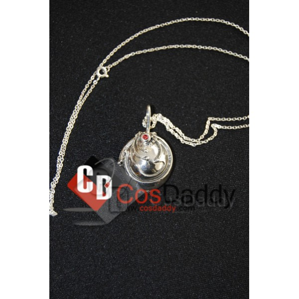 Vampire Diaries Elena Gilbert Vervain Pendant Necklace 100% 925 Silver