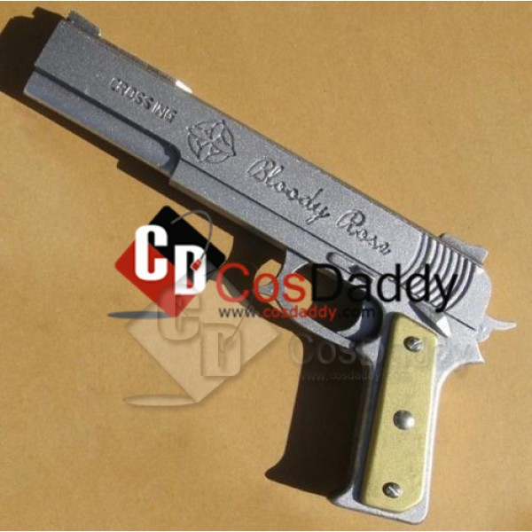 Vampire Knight Kiryu Zero Blood Rose PVC Cosplay Prop Gun