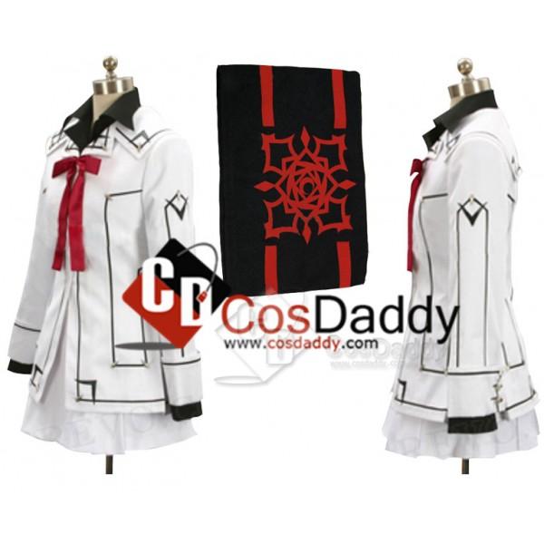 Vampire Knight Night Class Girl Kurosu Yuuki Cosplay Costume