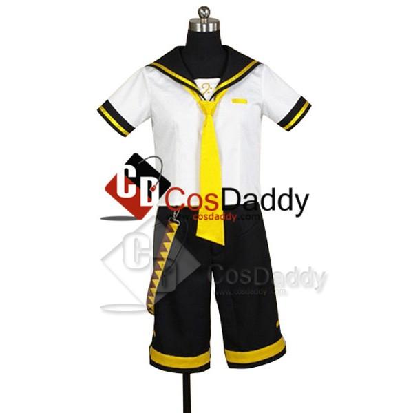 Vocaloid 2 Len Kagamine Boy Cosplay Costume