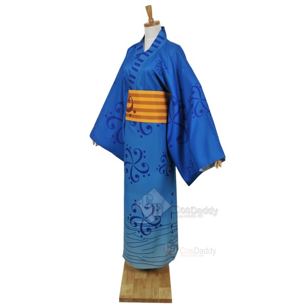 Vocaloid Hatsune Miku Project Diva-F Kagamine Len Bathrobe Kimono Cosplay Costume
