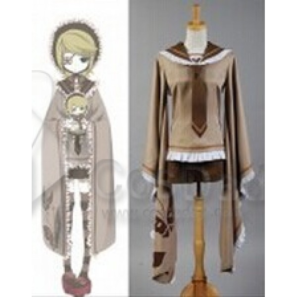 Vocaloid Kagamine Rin Senbon Zakura Sakuras Cosplay Costume