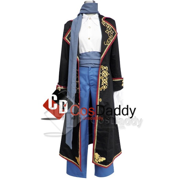 Vocaloid Kaito Sandplay Singing of the Dragon Cosplay Costume