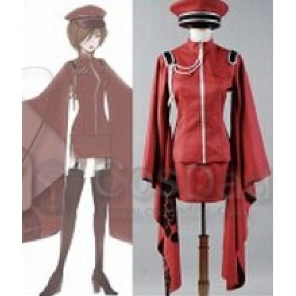 Vocaloid Meiko Senbon Sakuras Dress Uniform Cosplay Costume