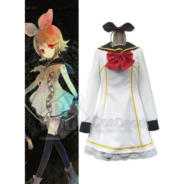 Vocaloid Rin Kagamine Cosplay Costume