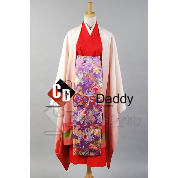 Vocaloid Senbon Sakura Meiko Kimono Cosplay Costum...