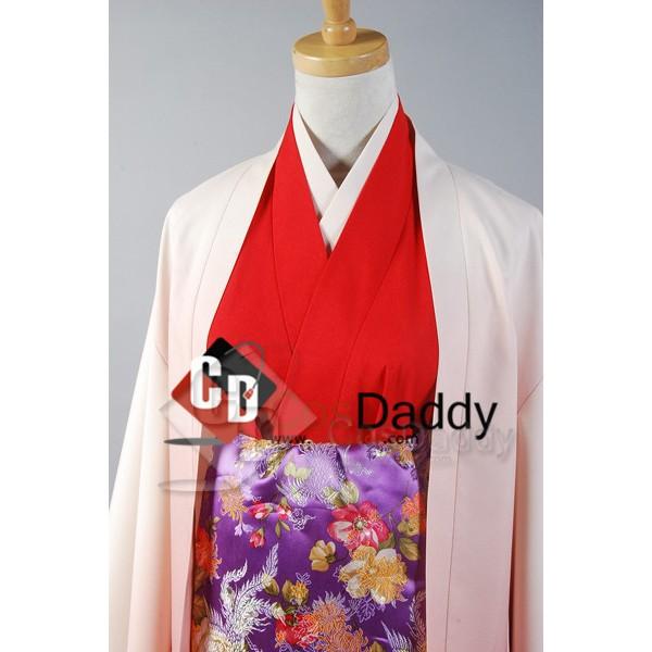 Vocaloid Senbon Sakura Meiko Kimono Cosplay Costume