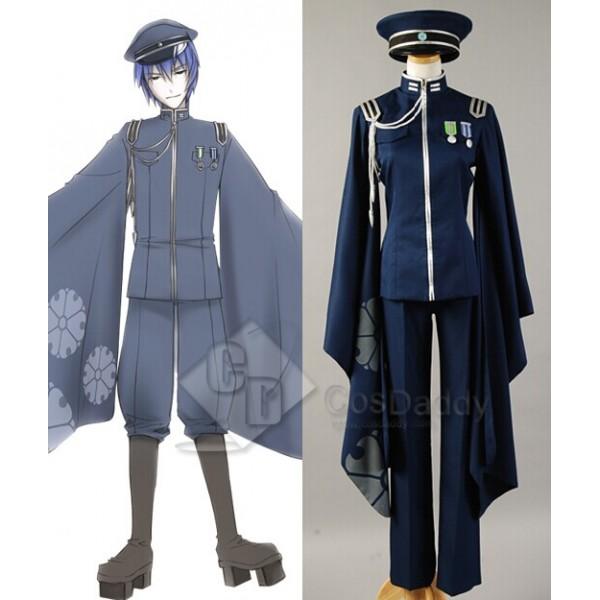 Vocaloid Senbon Sakuras or Senbon Zakura Kaito Cosplay Costume