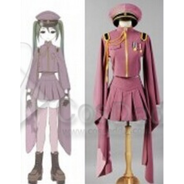 Vocaloid Senbon Sakuras Zakura Miku Uniform Dress Cosplay Costume