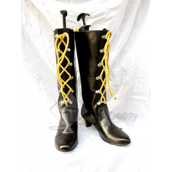 When They Cry - Higurashi Ryuuguu Rena Cosplay Boots Shoes