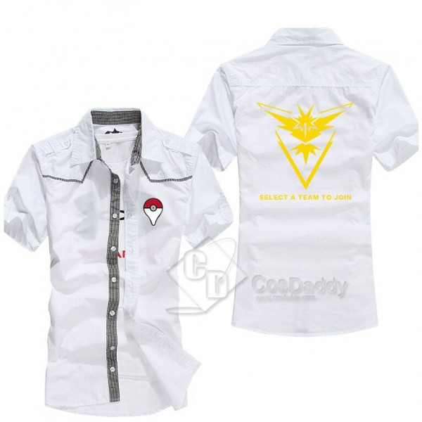 Pokemon Go Team Mystic Shirt Black/White/Dark Blue