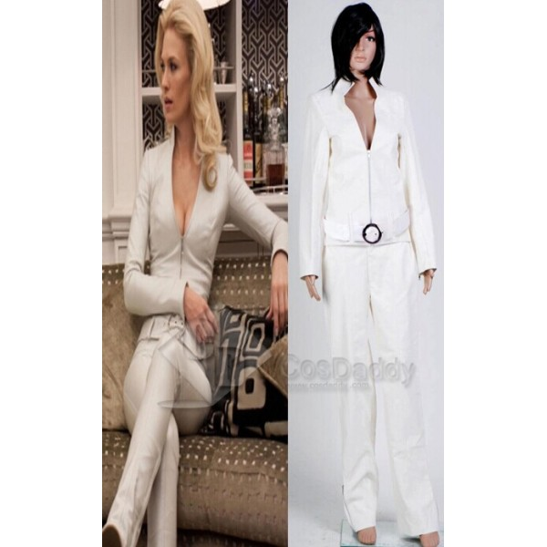 X-Men First Class:Generation X Emma Frost Aka White Queen Cosplay Costume