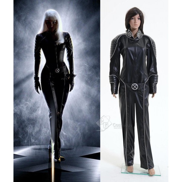 X-men Storm Halle Berry Jumpsuit Cosplay Costume
