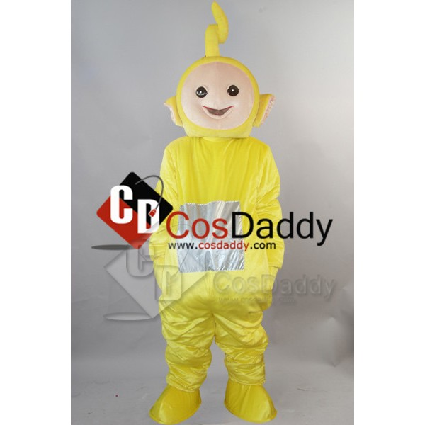Yellow Teletubbies Mascot Costume