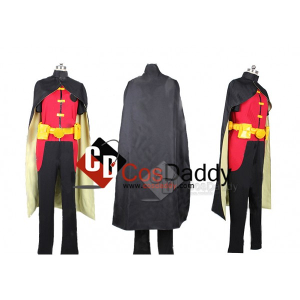 Young Justice Teen Titans Robin Outfit Cosplay Costume