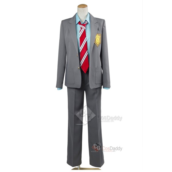 Your Lie in April Arima Kousei Uniform Cosplay Cos...