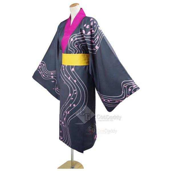 Yowamushi Pedal Kyoto Fushimi Akira Midousuji Kimono Bathrobe Cosplay Costume