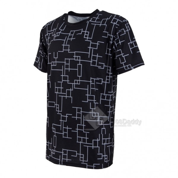 CosDaddy Final Fantasy XV Noctis Lucis Caelum Black T-shirt Cosplay Costume