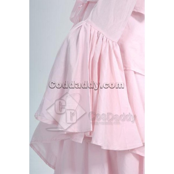 Pink Gorgeous Gothic Lolita Dress Cosplay Costume