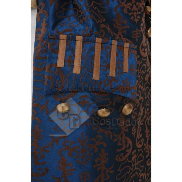 Pirates of the Caribbean 5: Dead Men Tell No Tales/Salazar's Revenge Jack Sparrow Cosplay Costume