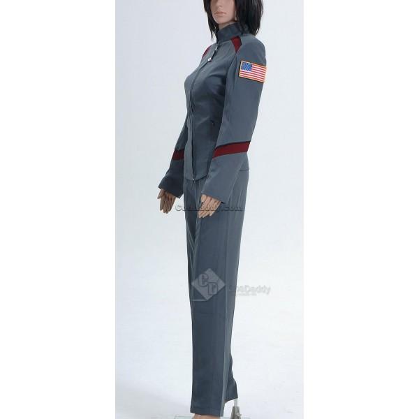 Stargate Atlantis Samantha Carter Teyla Uniform Jacket Pants Cosplay Costume