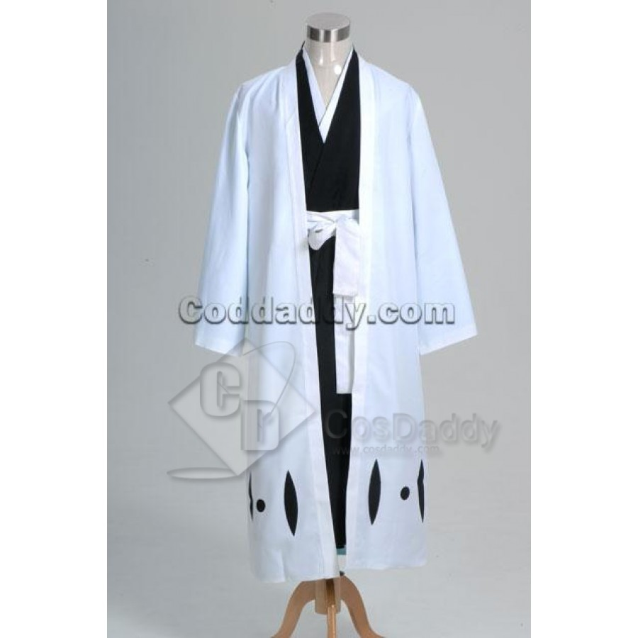 Bleach 5th Division Captain Aizen Sousuke Cosplay Costume Anime Halloween Show