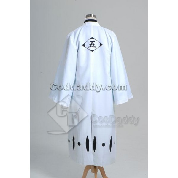 Bleach 5th Division Captain Aizen Sousuke Cosplay Costume