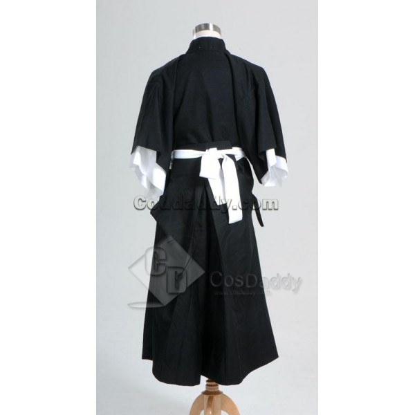Bleach Death God (Shinigami) Kimono Cosplay Costume