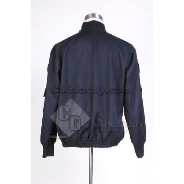 Stargate SG1 Black Uniform Jacket Cosplay Costume