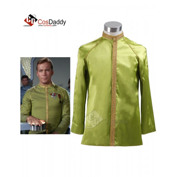 Star Trek TOS the Original Series  Jame Kirk Green...