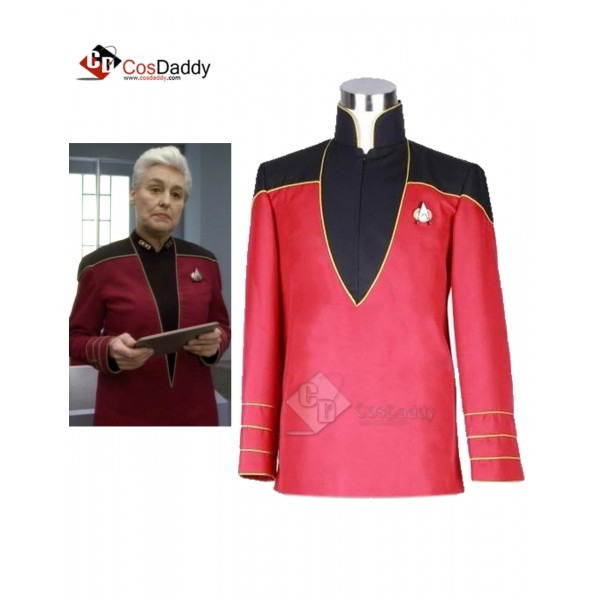 Star Trek  Voyager Admiral's Jacket Uniform Costum...