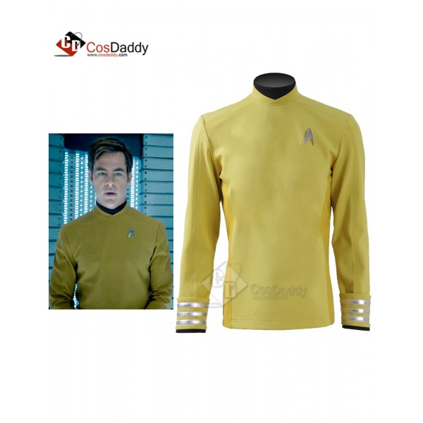 Star Trek Beyond Captain Kirk Sulu Yellow Shirt  C...