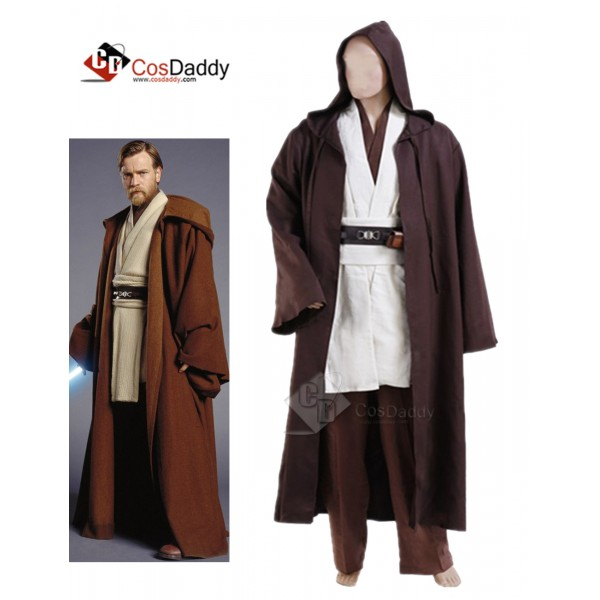 Star Wars Obi-Wan Kenobi Jedi Cosplay Costume