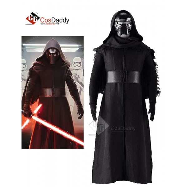 Star Wars VII Kylo Ren Black Cosplay Costume Full ...
