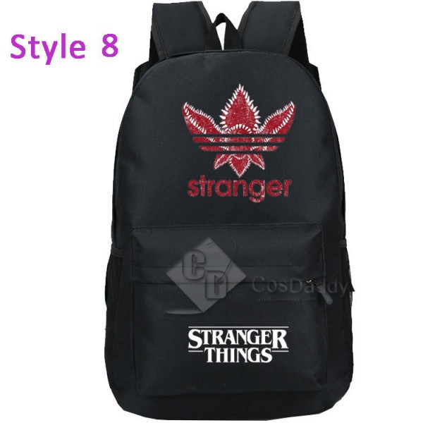 Stranger Things Backpack Bag Lightweight Travel Sports Bag For Kids Adults