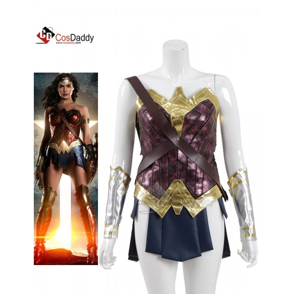 CosDaddy Wonder Woman Diana Prince Battle Suit Cos...