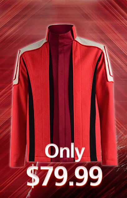 2020 Sonic The Hedgehog Dr.Robotnik Red Jacket Coat Cosplay Costume