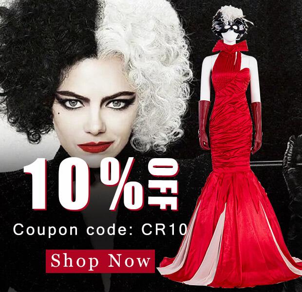Cruella Costumes 2021