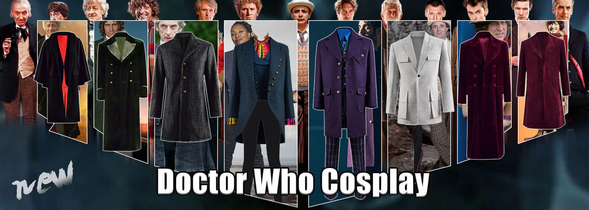 Doctor Who Cosplay Costume